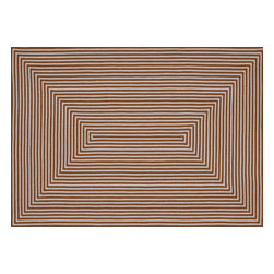 Loloi - Loloi In-Out Collection INOUIO-01OR003656 Rug - Hand-braided in China of 100-percent polypropylene, the In/Out collection offers a fun and simplistic look. This easy-to-place collection works nicely in an interior space or outdoors, and is available in an array of both neutral and vibrant colors.