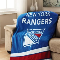 "Jarden Home Environment - NY Rangers Heated Thrw - Sunbeam NHL-logo New York Rangers Heated Fleece Throw Blanket.  Whether you are on the couch watching the game or outfitting your room  this heated throw will keep you warm all year round. Featuring 3 temperature settings and an auto-off feature  there is no need to worry about falling asleep with the blanket on.  Extra soft cozy fabric.  3 heat settings.  3 hour auto off.  Lighted control.  50"" x 60"".  This item cannot be shipped to APO/FPO addresses. Please accept our apologies."