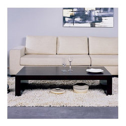 Beverly Hills Furniture Inc. - Recluse Rectangular Coffee Table - Contemporary design of the Recluse Rectangular Coffee Table - Beverly Hills Furniture Inc. brings elegance to the modern home! The table features elegant, smooth lines and brings an appealing modern ambiance to the air. Matching End table available.
