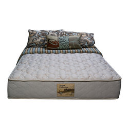 Wolf Mattress - Sleep Accents Illusion Plush 11-inch Full-size Mattress - Comfort and style is all yours with this plush full-size mattress that features a high-density foam layer and quilt filling, and a steel innerspring gives you durability and strength. This mattress is posturized, offering more support in the middle.