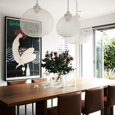 Contemporary Dining Room by Christopher Elliott Design