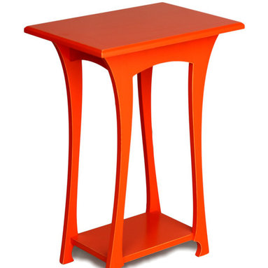 Grace Table - The graceful legs of this little side table give this table its name.  The Grace Table is elgant and lively, but in an approachable way.  It's a great comanion to your favorite reading chair to curl up with a good book.