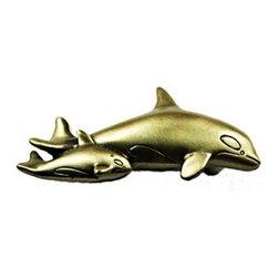 Sierra Lifestyles - Orca Pull - Antique Brass (SIE-681560) - Orca Pull - Antique Brass