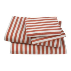 Draper Stripe Sheet Set by DwellStudio -