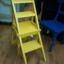 Library step chair - C065-PL -