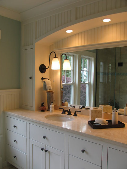 Traditional Bathroom by Ronald F. DiMauro Architects, Inc.