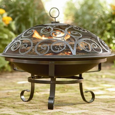 Contemporary Fire Pits by Kmart