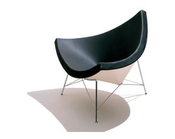 Herman Miller - Herman Miller Nelson Coconut Lounge Chair - If the idea of sitting in a coconut slice makes your back tense up, sit in this one. With its shallow sides and inviting curves, the chair is designed to let you sit in any position, move, and relax with surprising ease.