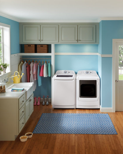 Laundry Rooms Designed For Convenience