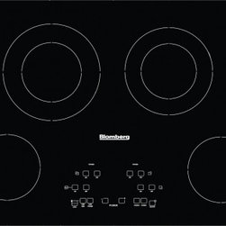"Blomberg - CTE30400 30"" Smoothtop Electric Cooktop With 4 Radiant Heating Zones  Automatic - This item is for a 30 smooth top electric cook top This cook top feature low power scale for delicate cooking digital display for power level indication radiant heaters heating technology touch control type Additionally this cook top features residua..."