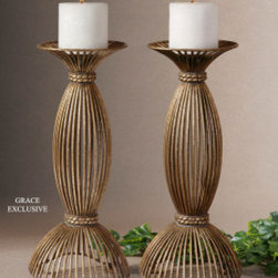 "19282 Candleholders Accessories by uttermost - Get 10% discount on your first order. Coupon code: ""houzz"". Order today."