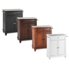 Cambridge Stainless Steel Top Portable Kitchen Island - Bed Bath & Beyond