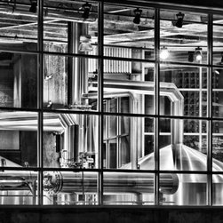 """Brewhouse"" Artwork - This shot of the Boulevard Brewery in Kansas City will make you crave a cold one. This signed print makes an ideal gift for the beer lover in your life or for your own living room or kitchen."