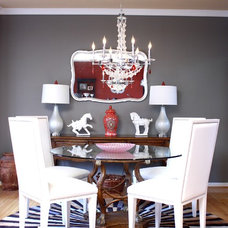 Traditional Dining Room by Kelly Porter