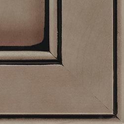 Winter Black Glaze Cabinet Finish - Kitchen Craft Cabinetry -