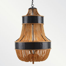 eclectic chandeliers by Shine