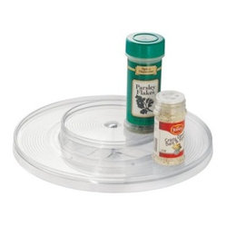 Inter Design Linus 2 Tier Pantry Turntable - About InterDesign, Inc.Located in America's ...