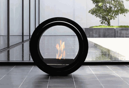 Contemporary Fire Pits by Greener Grass Design