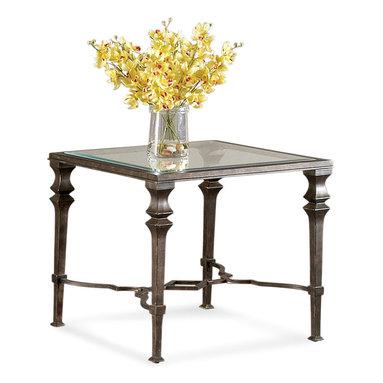 Bassett Mirror - Bassett Mirror Lido Square End Table - Lido Square End Table