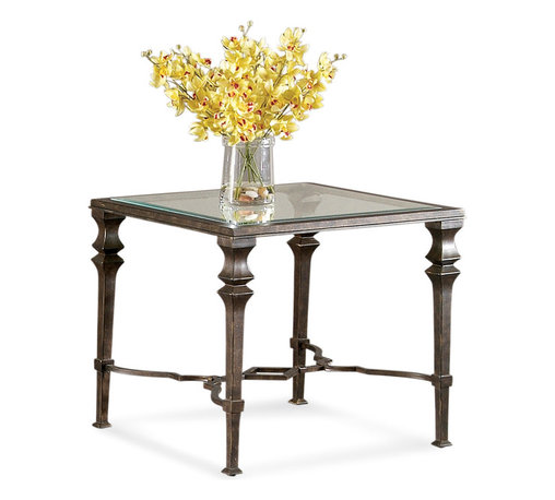 Bassett Mirror - Bassett Mirror Lido Square End Table - Lido Square End Table