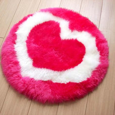 Modern Kids Rugs Heart Fun Rug By Bowron Rugs