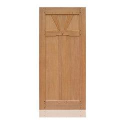 Craftsman Collection | 2964 | 13-27 - Species: African Ribbon Mahogany, Distress: Smooth, Interior Door