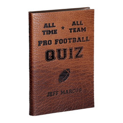 All-Time, All-Team Pro Football Quiz Bison Brown Book - All-Time, All-Team Pro Football Quiz
