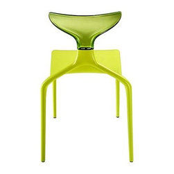 Punk Resin and Polycarbonate Dinning Room Chair - Spectacular cast resin and polycarbonate chair used in our Baan Thai project. Fabulous Italian design that is also Italian made and offers an amazing 10 year warranty.
