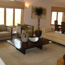 Contemporary  by Stayci Fast, New England Staging & Interiors