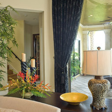 Eclectic Window Treatments by Debra Bowis