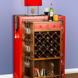 Über swank Asian Style Revolving Home Wine Bar - http://krrb.com/53300