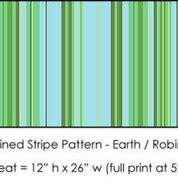 Casart coverings - Stripes - These colorful, fun stripes are the perfect addition to any room. Photo by Casart Coverings