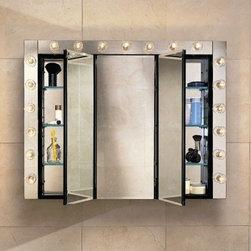 Robern PL Series 36'' x 30'' Medicine Cabinet PLM3630B - Durable rust-free anodized aluminum construction