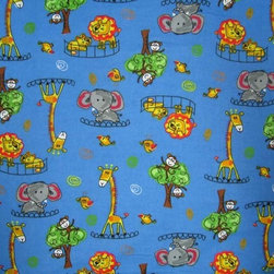"SheetWorld - SheetWorld Fitted Pack N Play (Graco) Sheet - Jungle Adventure - Made in USA - This 100% cotton ""flannel"" pack n play (graco) sheet is made of the highest quality fabric that's double napped. That means these sheets are the softest and most durable. Sheets are made with deep pockets and are elasticized around the entire edge which prevents it from slipping off the mattress, thereby keeping your baby safe. These sheets are so durable that they will last all through your baby's growing years. We're called sheetworld because we produce the highest grade sheets on the market today. Features the cutest jungle adventure print. Size: 27 x 39. Not a Graco product. Sheet is sized to fit the Graco playard. Graco is a registered trademark of Graco."