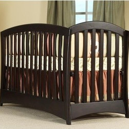 "PALI - La Spezia 4-in-1 Convertible Crib Set - Features: -La Spezia collection. -Solid rubberwood construction. -4-in-1 Convertible crib: converts from a crib to a full size bed. -When it comes time to invest in furniture, Pali has manufactured an excellent product that will last for generations; when purchasing Pali furniture, you can be comfortable in the knowledge that you have made a lifetime investment for your child. Dimensions: -47"" H x 75"" W x 29"" D, 67 lbs. Pali's Commitment to a Greener Environment: Pali uses non toxic, lead-free water-based paints, only water-based glues, recycled cardboard for their packaging and techniques that minimize solvent emissions and surpass American standards. They also recycle all materials that cannot be reused. Therefore, Pali's commitment to a greener environment is a commitment to each and every one of their customers and the well-being of future generations. This is a NON-Drop Side crib"