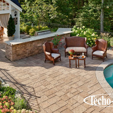 Traditional Swimming Pools And Spas by Techo-Bloc