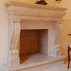 Traditional Fireplaces by Todini Sculture