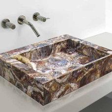 Bathroom Sinks by Madagascar Minerals