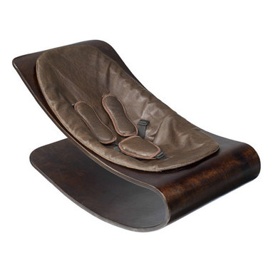 bloom - Bloom Coco Cappucino Stylewood Baby Lounger, Henna Brown - Coco stylwood belongs in contemporary living spaces with its iconic form and comfortable nest for baby formed in stylwood coco stylewood has a smooth self-rocking motion, naturally soothing to baby.  Features