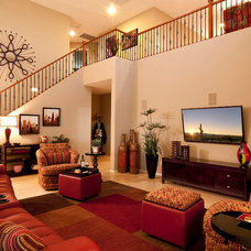 Contemporary Home Theater by La-Z-Boy Home Furnishings & Décor of Arizona