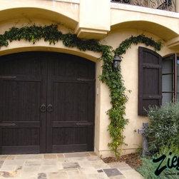 Mediterranean Style Garage Doors The Mediterranean Coast