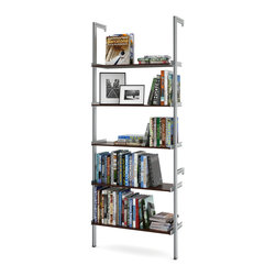 """ISS Designs - PAL33 33"""" Pole Mounted Aluminum Shelving, Rust - *See 2nd image for color."""