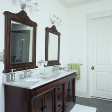 Traditional Bathroom by E3 Cabinets & Design