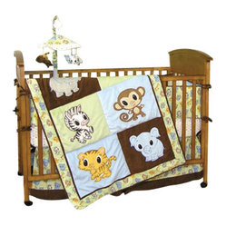 Trend Lab Chibi 5-Piece Crib Bedding Set