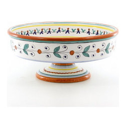 Artistica - Hand Made in Italy - Fruttina: Footed Fruit/Cake Bowl - Fruttina Collection