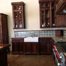 Mediterranean Kitchen by Taber & Company