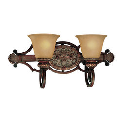 Minka Lavery - Minka Lavery ML 5952 2 Light Bathroom Vanity Light from the Belcaro Collection - Two Light Bathroom Vanity Light from the Belcaro CollectionFeatures: