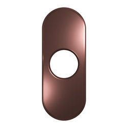"VIGO Industries - VIGO 4"" Bathroom Deck Plate in Oil Rubbed Bronze - The VIGO 4"" Bathroom Deck Plate/Escutcheon in Oil Rubbed Bronze is a simple and practical solution to installing new single-hole faucets into existing three-hole setups."