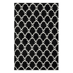 """Loloi Rugs - Loloi Rugs Charlotte Collection - Onyx, 2'-3"""" x 3'-9"""" - The Charlotte Collection's striking patterns may draw you into a room, but it is the incredibly soft surface that will keep you there. Whether you are kicking your shoes off after a long day of work or just enjoying a lazy Sunday, your feet will appreciate the comfy microfiber feel. With a surface this soft, Charlotte is the ideal choice as a bedside accent, family room centerpiece, and even a bathroom rug in a scatter size. What's more, Charlotte's 100% polyester fibers are highly stain and moisture resistant, so its colors remain vibrant over time."""