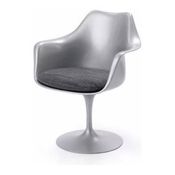 Knoll | Tulip Armchair with Seat Cushion